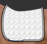 Square Dressuur zadeldek zonder wol Mattes _