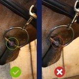 Baucher elliptical trens dubbel gebroken Pony_