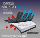 Le Mieux Mesh Carbon Air Zadeldek met Bridle & Ride Logo in bijpassende kleur _