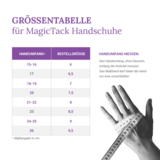 Magic Tack lederen handschoenen zonder patch _