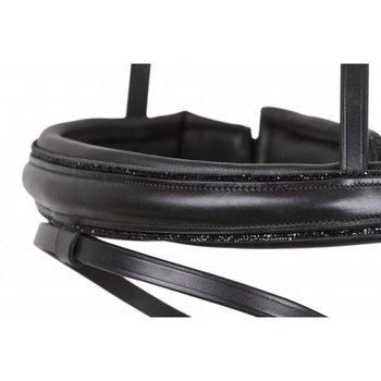 Comfort Neusriem met zwarte crystal boord SD Design