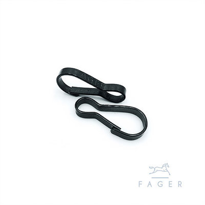 Fager Veilige sluiting - Security Clasp BLACK