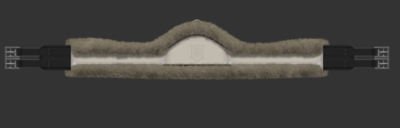 Asymmetrical SLIM LINE jumper singel COMPLEET