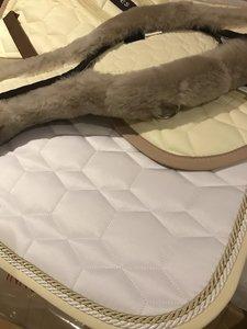 Square Dressuur zadeldek zonder wol Mattes
