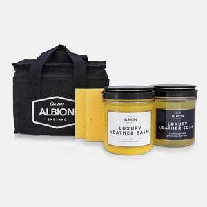 Albion leder verzorg kit (5-delig)