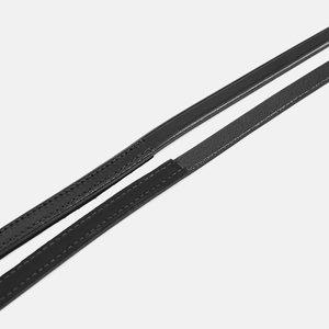 Albion Stang teugels leder achterzijde rubber